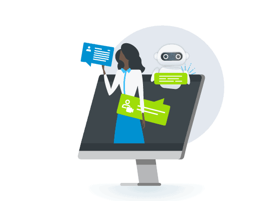 Comm100 helps streamline business processes with automation, analytics and bots