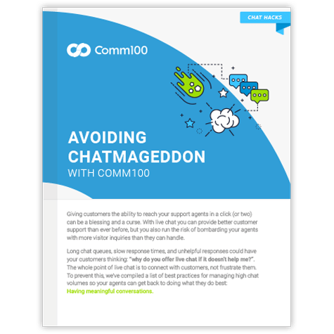 Free Download: Avoiding Chatmageddon - How to Handle High Chat Volume