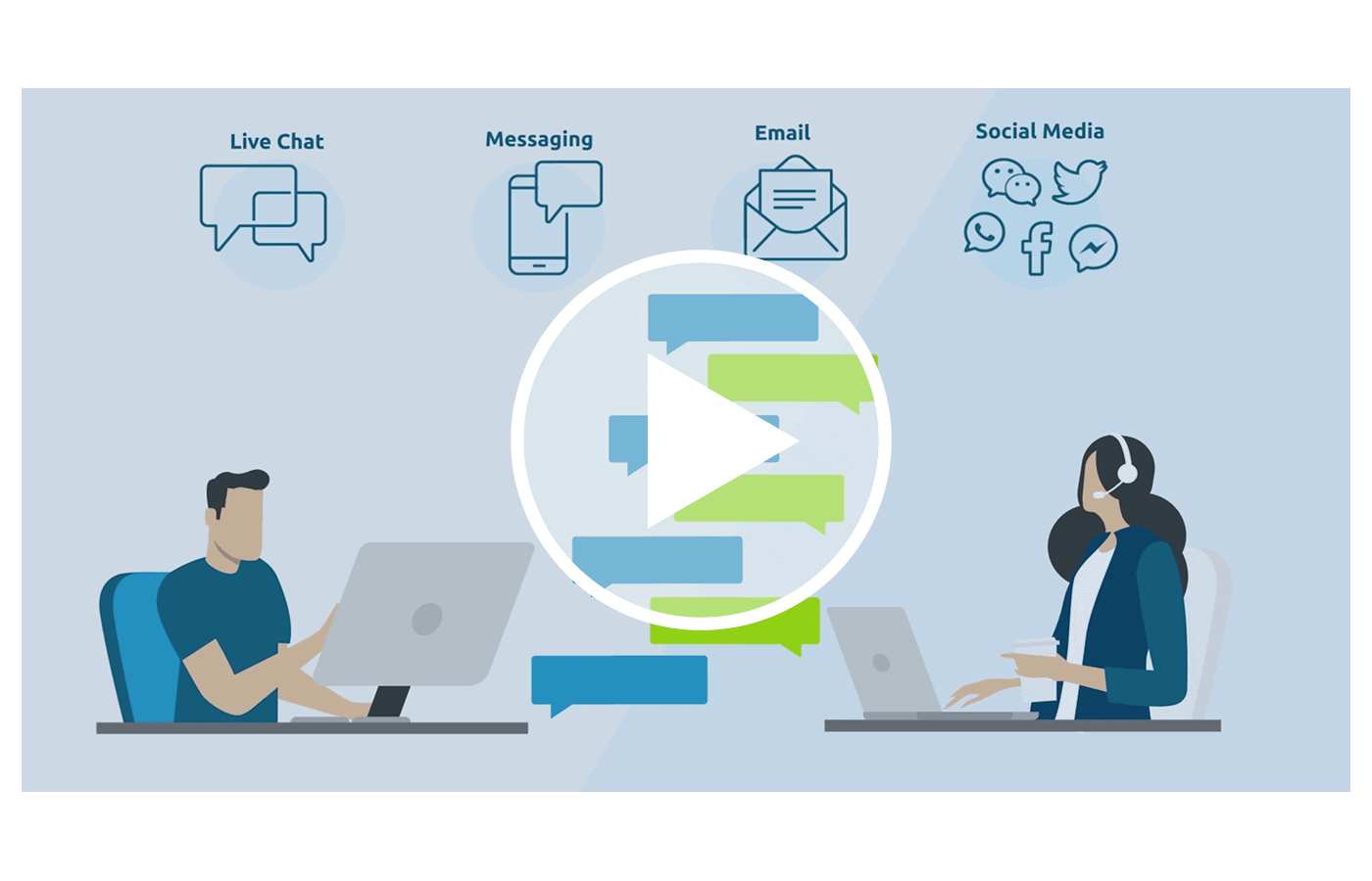 comm100 ticketing and messaging explainer video thumbnail